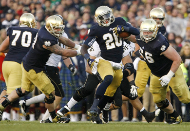 Notre Dame Wake Forest Football